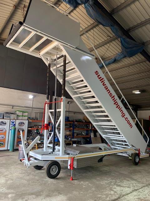 1980 AVIALIFT driveable conveyor belt from the film Bohemian Rhapsody